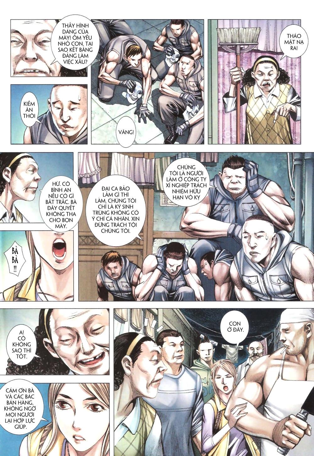 Đại Quân Phiệt chap 9 trang 4