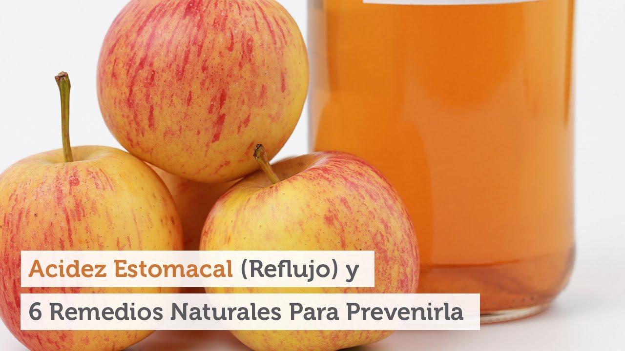 remedio natural acidez reflujo