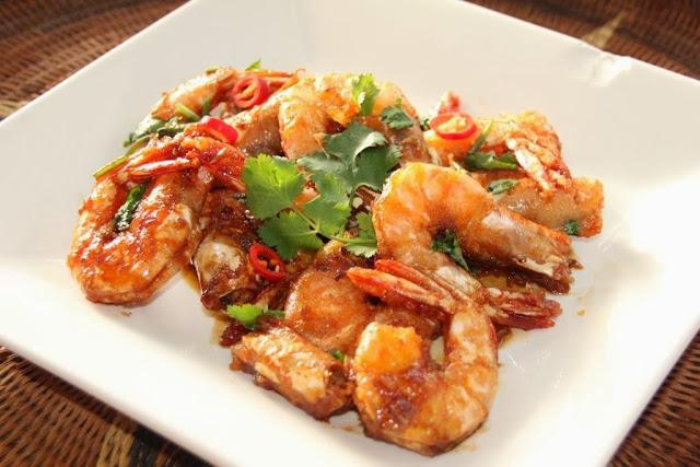 Chinese Teriaki Prawns (Shrimp)