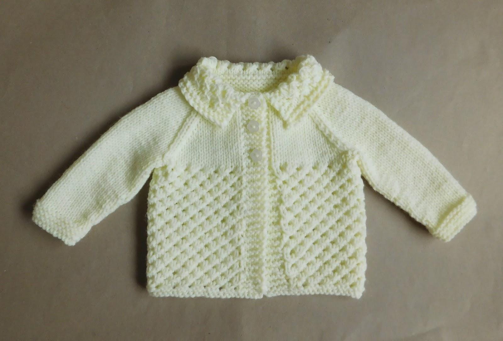 Marianna\'s Lazy Daisy Days: Danika Baby Jacket
