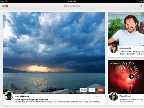 Google+ app for iPad available now in the App Store