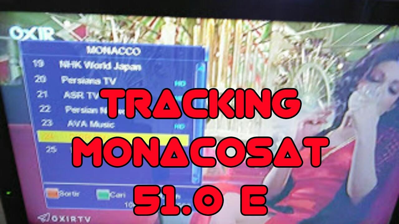 Cara Tracking Satelit Monacosat Ku-Band