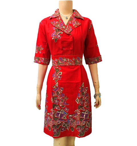 Model Baju Batik Modern Dress: Baju Batik Modern Terbaru Wanita Pria Couple Muslim Online
