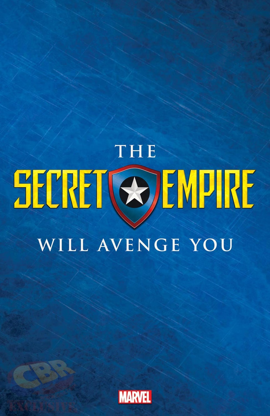 Secret Empire Unites Marvel Universe Champions In New Visual Teaser.