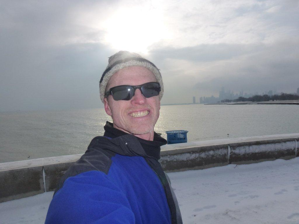 the lakefront trail december 2012