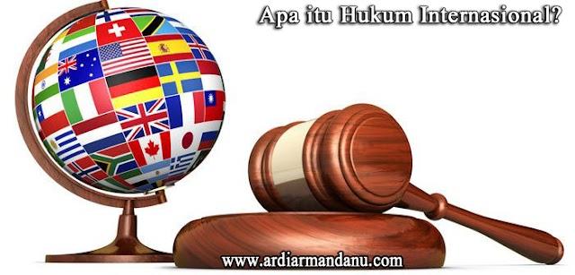Apa Itu Hukum Internasional?