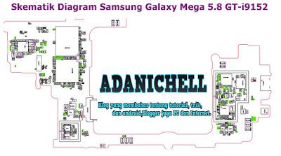 Skematik Diagram Samsung Galaxy Mega 5.8 GT-i9152