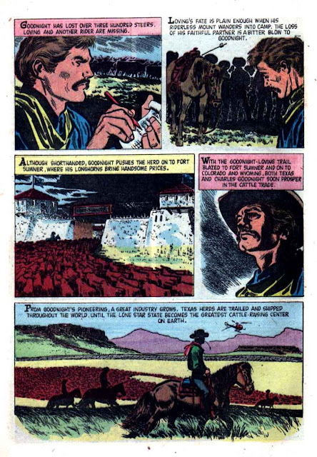 Jace Pearson's Tales of the Texas Rangers v1 #16 dell western comic book page art by Alex Toth