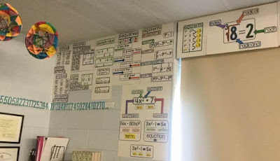 Ms. Potter math word wall