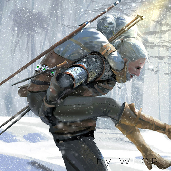 Geralt and Ciri Wallpaper Engine