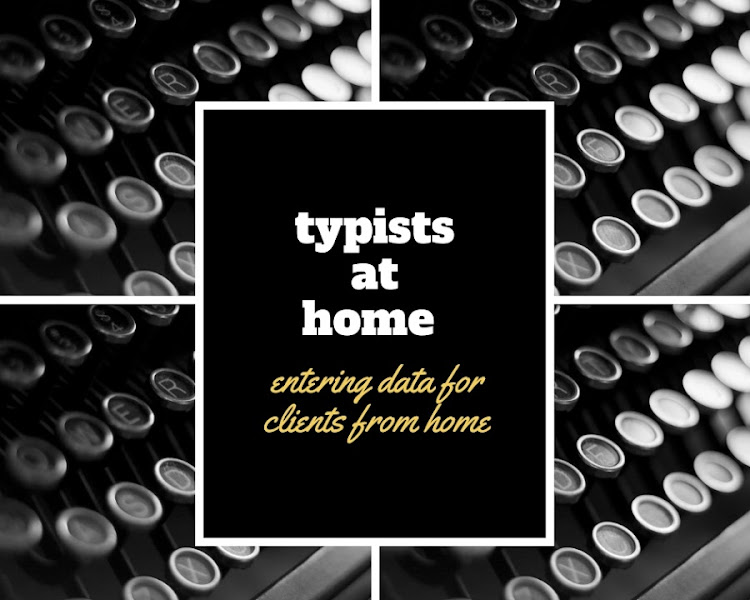 AT HOME TYPISTS INC IS HIRING!