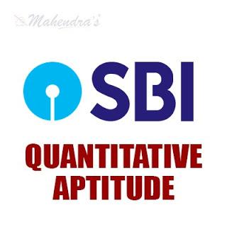 Quantitative Aptitude Questions For SBI Clerk Prelims : 31 - 01 - 18