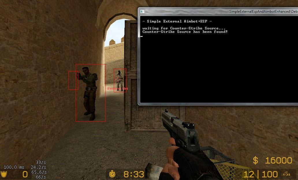 W8k4IGc Counter Strike Hile Aimbot External Bot indir
