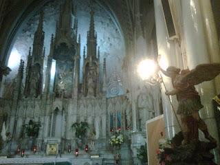 Fiesta de los Santos Arcángeles Miguel Jefe del Ejercito Celestial, Gabriel Mensajero Celestial y Rafael Sanador de Mente, Cuerpo y Corazón y protector de los Viajeros