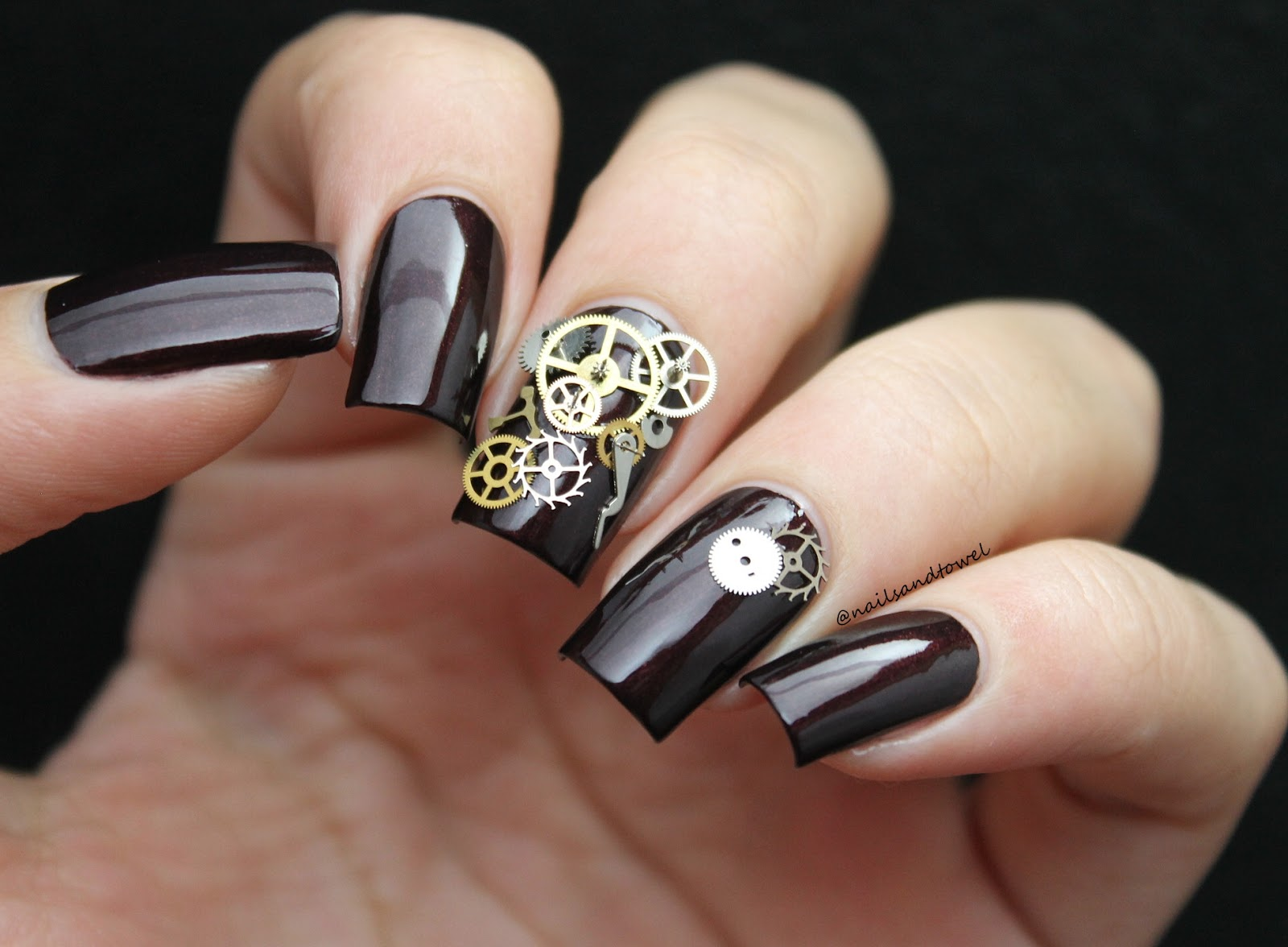 My Nail Art Journal: The Clockwork Nails + Born Pretty Store