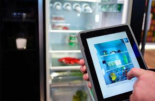 ال جي تطور  « ثلاجة ذكية» مزودة بشاشة لرؤية محتوياتها من الداخل
