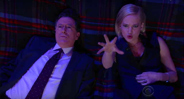 jennifer lawrence joy stephen colbert