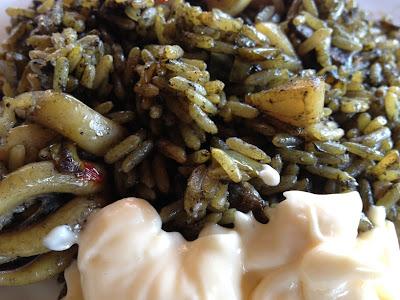 Receta - Arroz negro - Arroces en barbacoa - Arroz en paella - Arroz negro en paella - el gastrónomo - ÁlvaroGP - el troblogdita