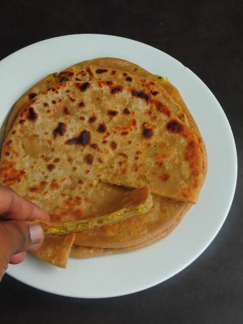 Sattu Roti, Sattu Stuffed Paratha