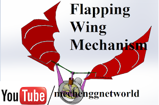 Scotch yoke Operated Flapping wing Mechanism Ornithopter