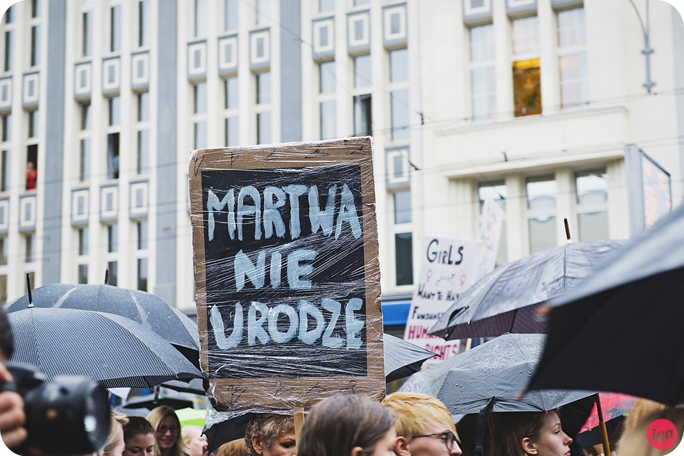 polish women go on strike wrocław