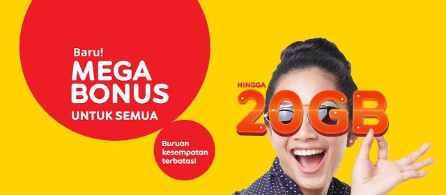 Cara Terbaru Mendapatkan Bonus Kuota 20 Gb IM3 Indosat Ooredoo