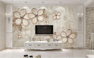 best 3D wallpaper for walls of living room and bedrooms