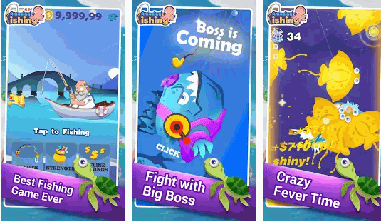 Download Amazing Fishing MOD Apk