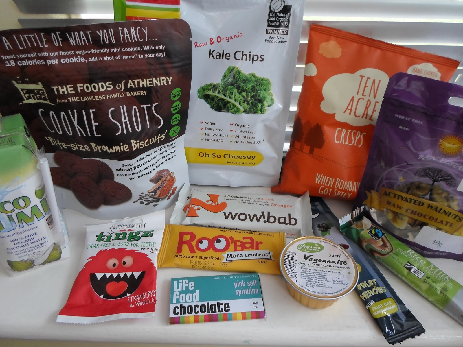 vegan tuck box subscription service