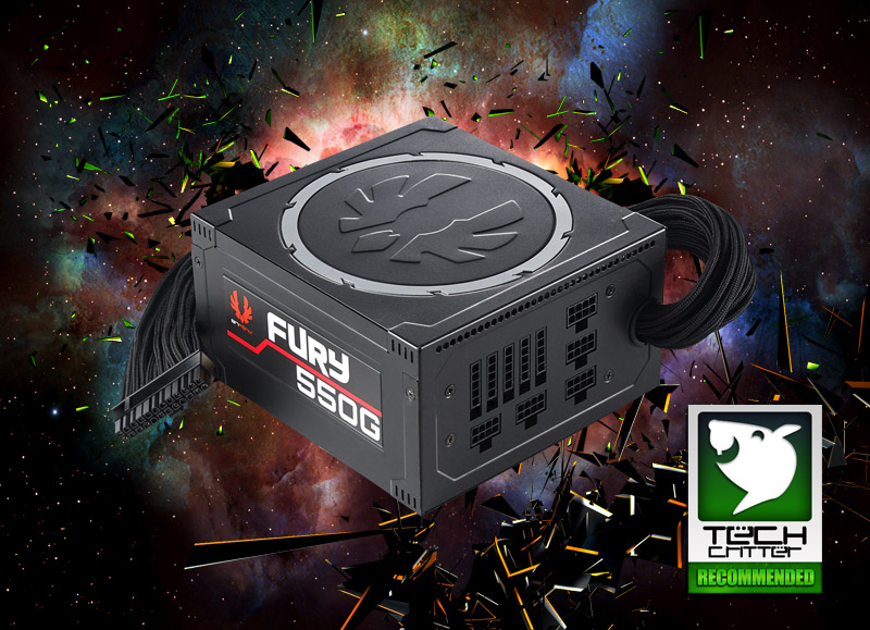 Unboxing & Preview: Bitfenix Fury 550G Gold Modular Power Supply 14