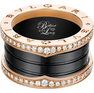 Brilliant Luxury ♦ Bvlgari B.Zero1 Rings