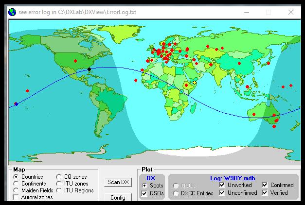Software Defined Ham Radio KH8KC0W American Samoa – American Samoa Map World