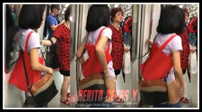 Video, Vulgar, wanita paruh baya lepas celana, tak disangka, Berita Bebas, BeritaBebasX,