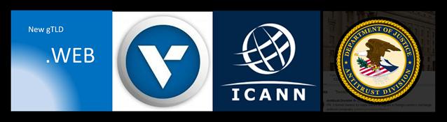 graphic - New gTLD .WEB - DOJ Antitrust Division Investigation - ICANN, Verisign