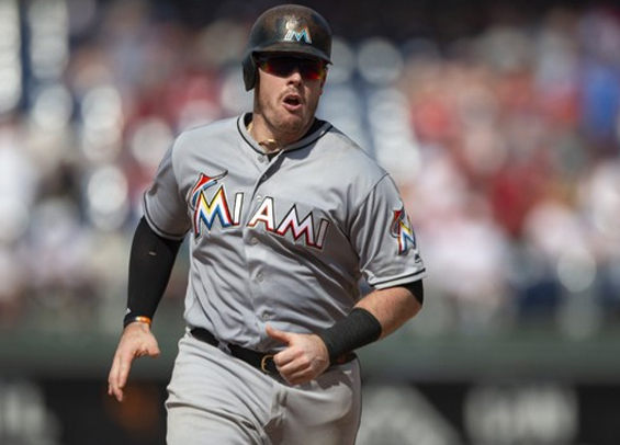 Phillies acquire Justin Bour from Marlins