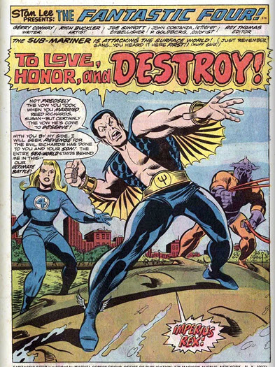Fantastic Four 149 Sue Namor