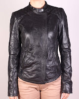 Geaca Zara Dama Karlita Black Leather (Zara)