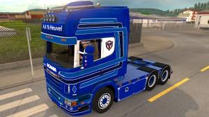 Scania R730 A.A.V.D.Heuvel truck mod