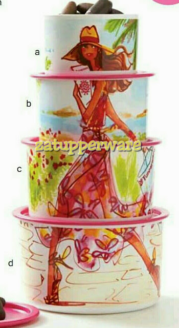 Tupperware One Touch Miss Belle set