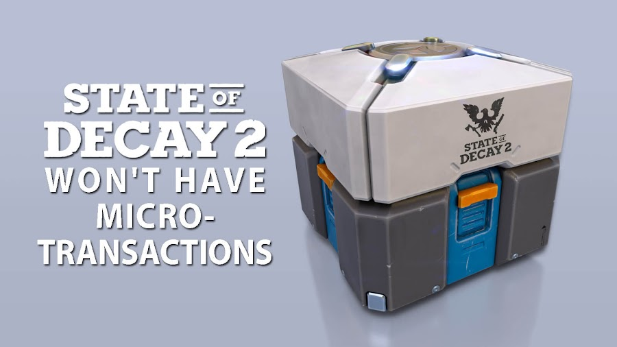 state of decay 2 no micro transactions