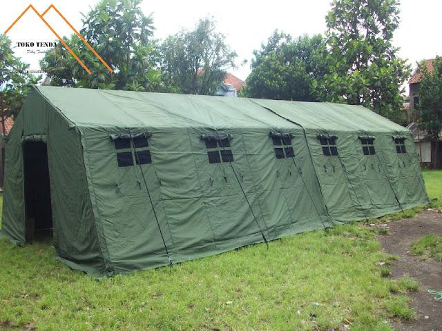 Tenda - Pengungsi - Serbaguna - TNI