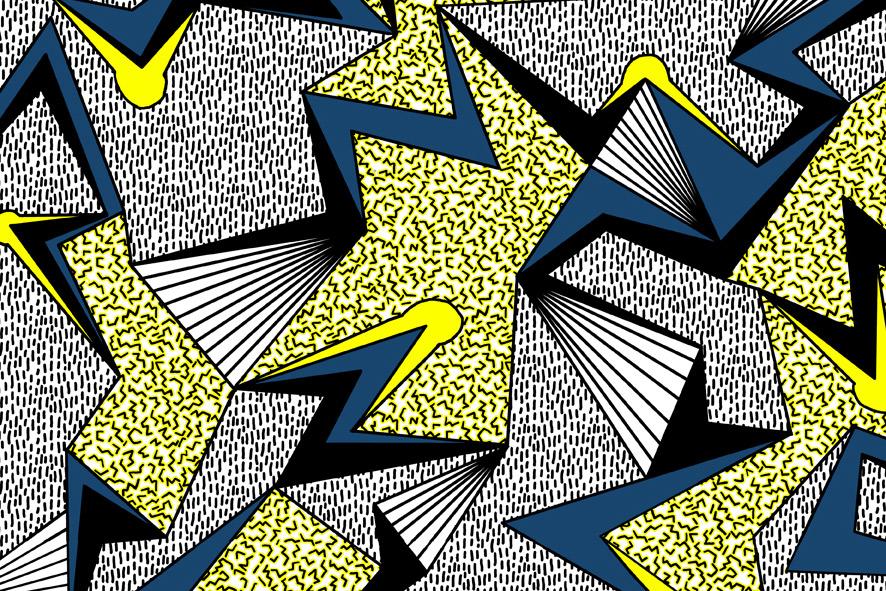 The Geometrics  Camille Walala 1975