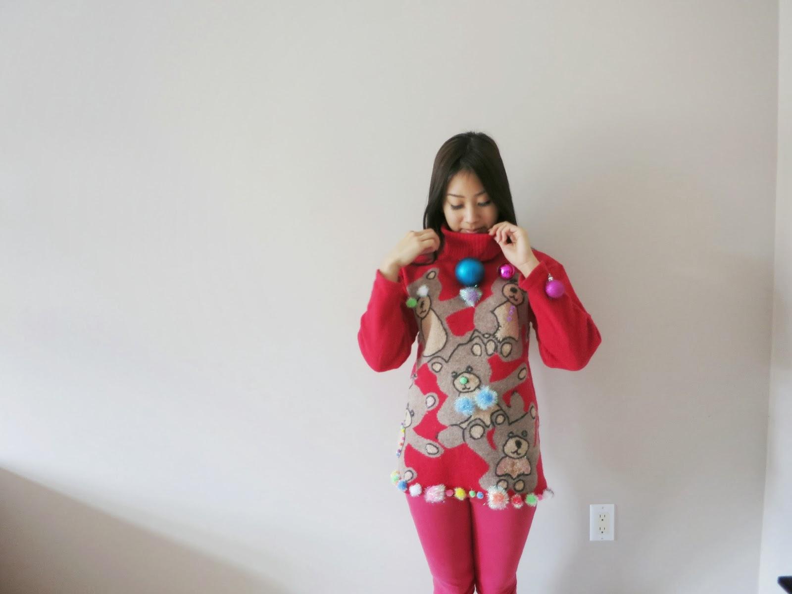 Ugly christmas sweater pics