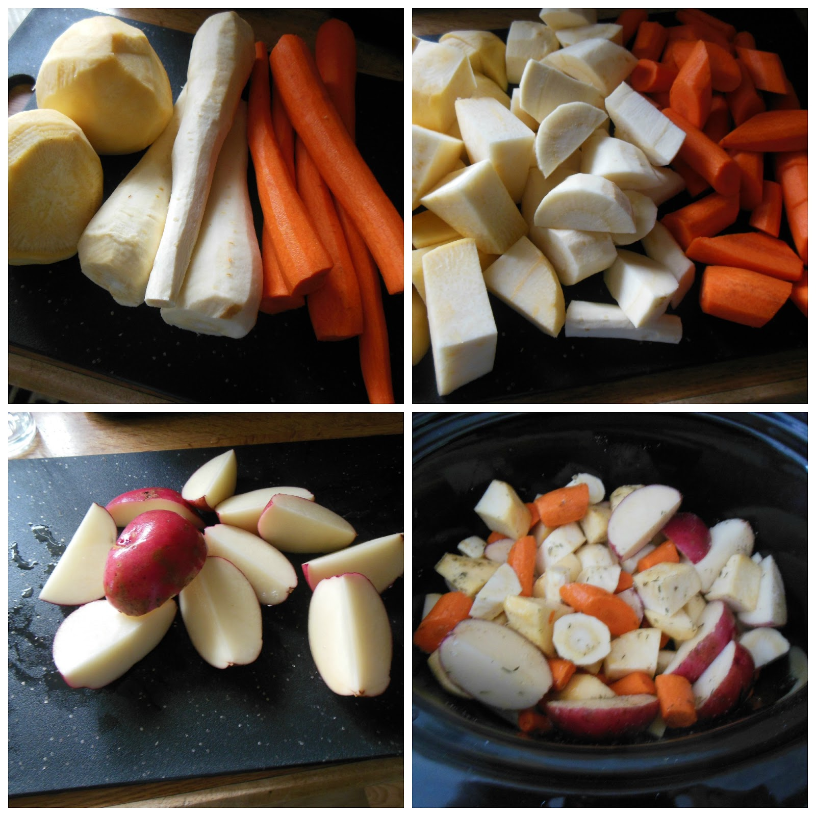 how to cook root vegetables in a slow cooker
