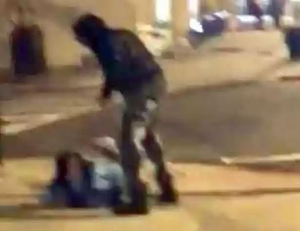 Shocking Footage Shows Man 'Punch And Kick Pregnant Girlfriend In Face Causing Seizure'