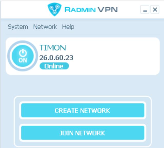 تحميل برنامج في بي ان للكمبيوتر مجانا Radmin VPN 1.0.3447