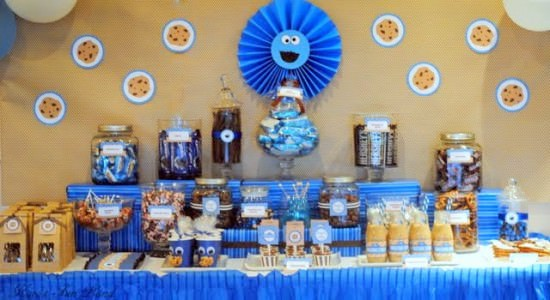 C Is For Cookie Monster Birthday Party And Me This Buffet