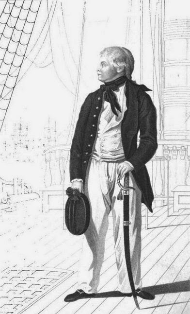 Prince William as a midshipman  from The Life and Times of England's Patriot King  by J Watkins (1831)