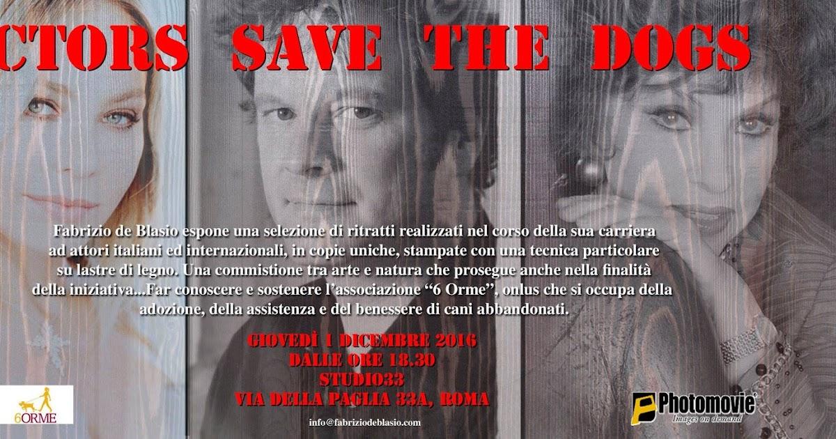 Actors save the dog a Roma il primo dicembre 2016