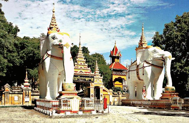 Monywa & Thanboddhay temple monastery
